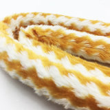 pijp van de Slang van Shisha van de Waterpijp van het Ontwerp van het Bont van 1.8m de Gele Gestreepte Acryl (S-hh-006)