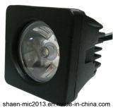 IP67 luz del trabajo de la viga LED de la inundación del CREE 10W