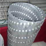 Rond / Rectangulaire / Diamond Hole Perforated Filter Tube / Pipe for Oil & Water Treatment
