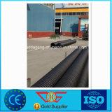 Fabricante ondulado do atacadista da tubulação da parede do dobro do PE de China Sn8
