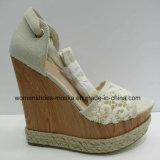 Nueva señora Fashion Women Wedge Shoes de la venta al por mayor del estilo