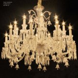Illuminazione a cristallo del lampadario a bracci di stile del Baccarat per la lampada dell'hotel e della casa