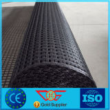 Высокий материал используемый конструкцией двухосный стеклоткани дороги/дороги рельса Geogrid
