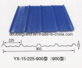 波形の鋼板またはカラー上塗を施してあるか電流を通された鋼板