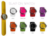 Silicone Band Snap Watches Sports Watches (SWW-006)
