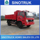 3ton 5ton HOWO Dongfeng Foton Dumper Camion benne basculante
