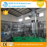6000bph Glass Bottle Rotary Carbonated Drink Filling Plant