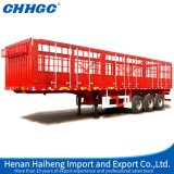 Heißes Sale 3axle Fence Stake Semi Trailer China Best Warehouse Storage Goods Trailer