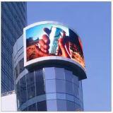 Tela de LED de cor total exterior (P10) do visor LED de publicidade