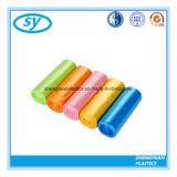 HDPEプラスチックによってカスタマイズされるカラーごみ袋