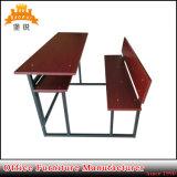 Jas-089 고품질 대학 가구 학교 두 배 책상과 의자