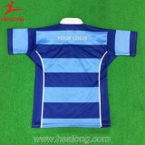 Healong späteste Entwurfs-Sportkleidung-Farbe sublimiertes Rugby Jersey