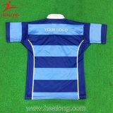 十分にHealongのスポーツの高品質の染料によって昇華させるラグビーのジャージ