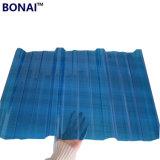 Plastique transparent en polycarbonate de haute qualité Fiche de toiture en carton ondulé