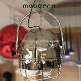 Moderne industrielle Art-rostfreie justierbare hängende Stahlvorrichtungen, die Licht für Küche hängen