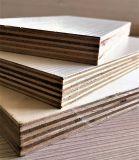 contre-plaqué en bois de peuplier de meubles de 5-21mm