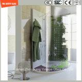Vidro elevado da cópia de seleção de Temeprature de quatro cores para a cabine do chuveiro