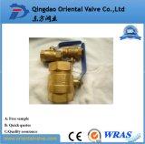 Шариковый клапан воды высокого качества Pn25 конструкции способа Dn10 безопасный латунный для индустрии