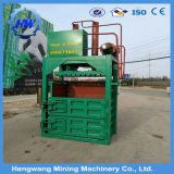 La prensa de balas vertical de 40 toneladas de residuos de algodón