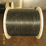 Cable de fibra óptica acorazada con cable de fibra óptica para comunicaciones