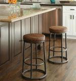미국 다락 산업 복구 고대 방법은, 단철 바 실제적인 목제 의자 발판 의자 의자 발판 한다 오래된 책상 (M-X3422)를