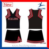 Healong Quick Dry Polyester Vêtements Cheerleader uniforme d'impression numérique