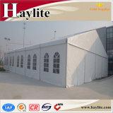 Grande capacidade de armazenagem do depósito temporário tenda industriais para fins militares