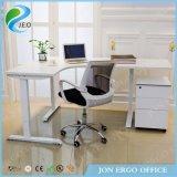 Le bureau L forme de meubles se reposent pour rester le bâti/reposent le bureau de stand (JN-SD530)