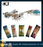 Macarronete/massa/espaguete Full-Automatic que pesa a máquina de empacotamento com 8 linhas