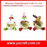 Cestino di natale della decorazione di natale (ZY14Y431-1-2-3 15CM)