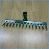 8-14 testa d'acciaio del rastrello dell'arco dei denti per fare il giardinaggio