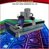 Marcação de vidro do laser da gravura do grande tamanho da fábrica de Holylaser