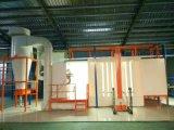 Cabina di spruzzo di plastica del rivestimento della polvere con il sistema del ciclone