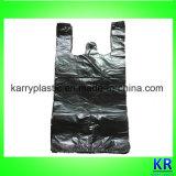Sacs de détritus de sacs à provisions de HDPE