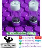 99.4% Peptide superbe Gonadorelin (2 mg/vial, 10 mg/vial) CAS : 33515-09-2