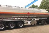 45000 L alliage aluminium pétrolier de carburant du réservoir de carburant 45cbm remorque de camion pour la vente