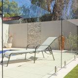 Prezzo di vetro della piscina della rete fissa del ferro della rete fissa bassa di vetro di Starfire per metro quadro