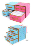 Custom Foldable Fabric Storage Organizers with Grommet/Non-Woven Storage Bins