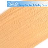 De Europese 613# Blonde Bundels van het Haar van de Steekproef van de Kleur Vrije