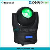 DMX 60W RGBW LEDのビーム小型移動ヘッドコンサートライト