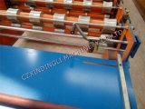 Rolo de aço de folha do telhado de Botou que dá forma à máquina