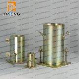 Moulage en acier concret de cylindre
