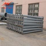 Stahlübertragungs-schwere Spannkraft Pole des winkel-110kv