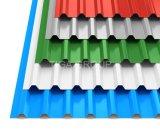 GB JIS ASTM gewölbtes Metall/Eisen-/Stahlblech für Dach-Material