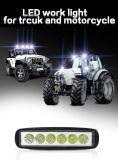 proyector de la luz del trabajo de 18W LED y lámpara de la niebla de la motocicleta de la luz de inundación 12V LED