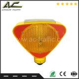 熱い販売の障壁携帯用太陽LEDのトラフィックの交通安全の警報灯