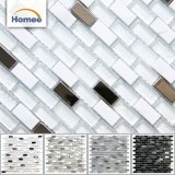 Mattonelle di mosaico decorative all'ingrosso di Glass&Metal&Stone di prezzi bassi per dell'interno