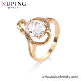 11942 anello placcato oro blu scuro alla moda del Cobblestone 18K di Xuping