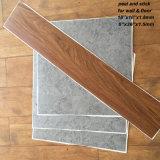 PVC自己接着床タイル/皮および棒の床