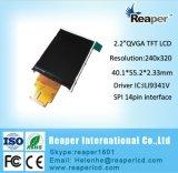 携帯機器のためのTFT LCDの表示2.2inch 240*320 SpiインターフェイスLCD表示
